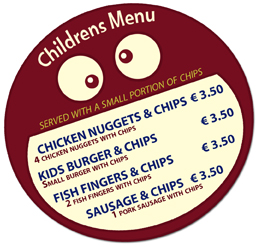 Tommy Tukker children menu img