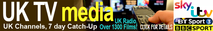 Uk TV Channels Advert below header banner